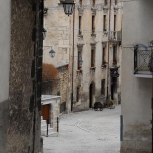 Street, Pescocostanzo