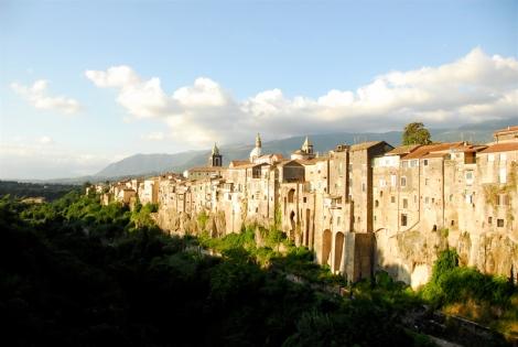 View of Sant'Agata dei Goti, in the province of Benevento