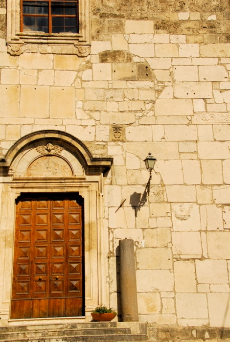 Ssa. Annunziata, new and old portals