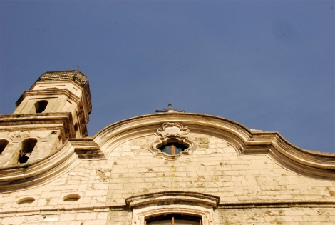 Ssa. Annunziata, view of the gable and belltower