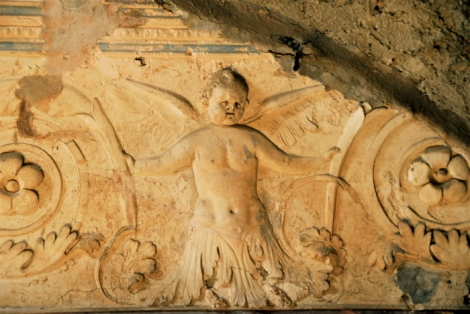 Putto, Baths, Pompeii