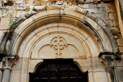 Tympanum, Porta dei Conversi