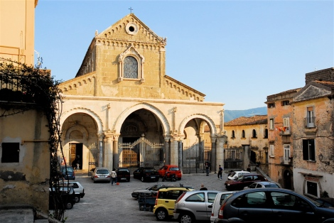 Duomo, eleventh century with later additions, Sessa Aurunca