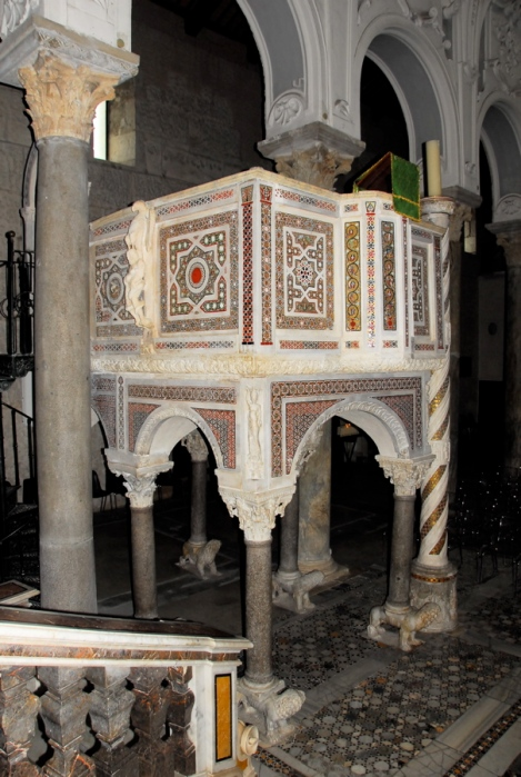 Pulpit, ca.1224-59, Cathedral of Sessa Aurunca