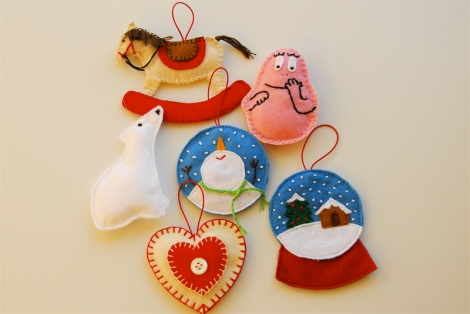 Christmas ornaments 2013